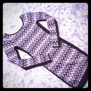 Free People knit dress sz small